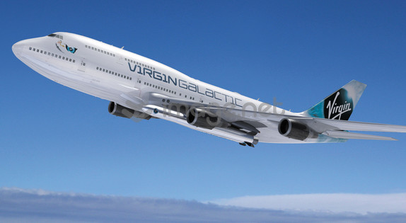 Virgin Galactic Taps 747 For Satellite Launch