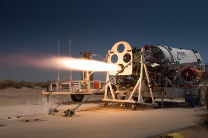 XR-5K18 Test Firing Credit : XCOR Aerospace